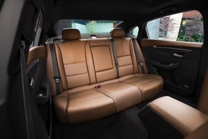 2015 Impala interior