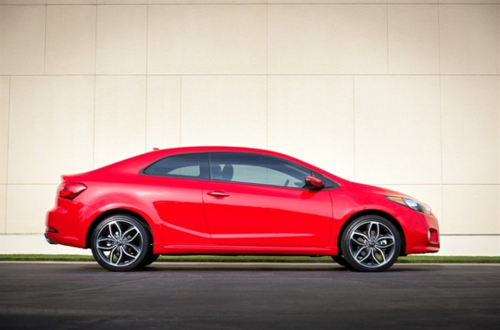 2015 Kia Forte Koup Red