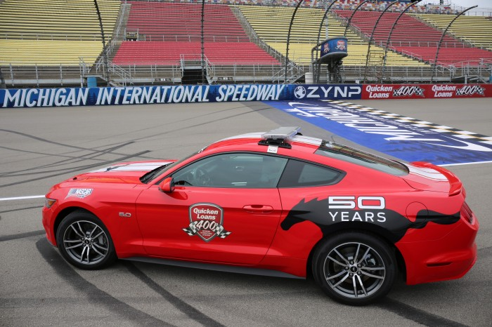 2015 Mustang GT pace car