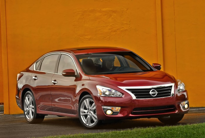 pricing for the 2015 Altima