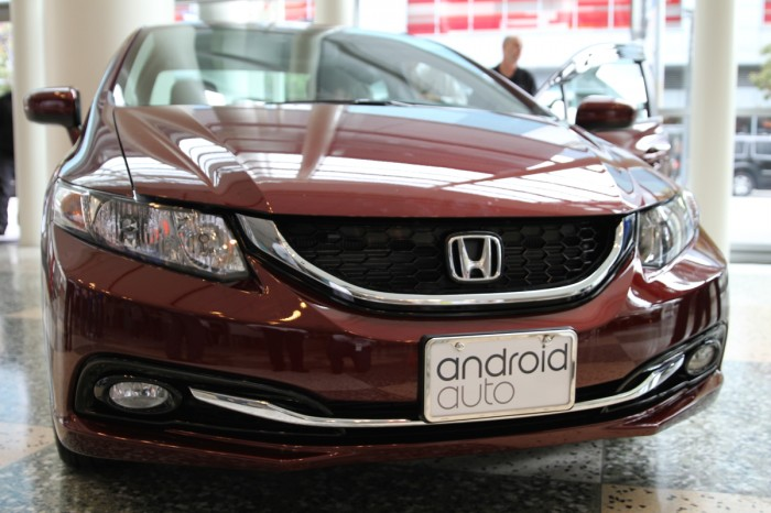 Honda Announces Android Auto