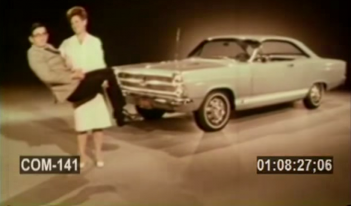 Ford Fairlane Ad