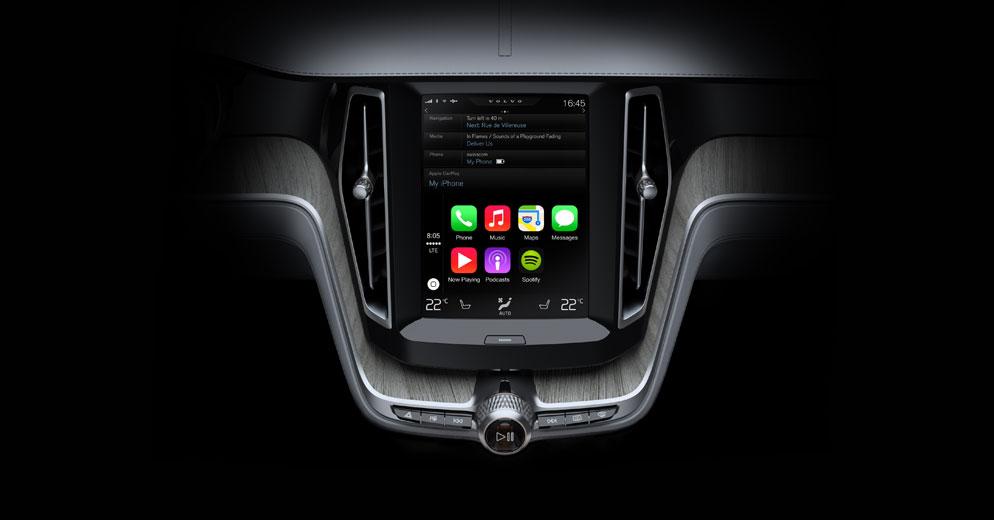 in-car control system