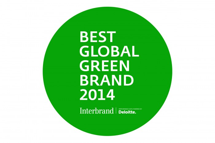 2014 50 Best Global Green Brands List Ford