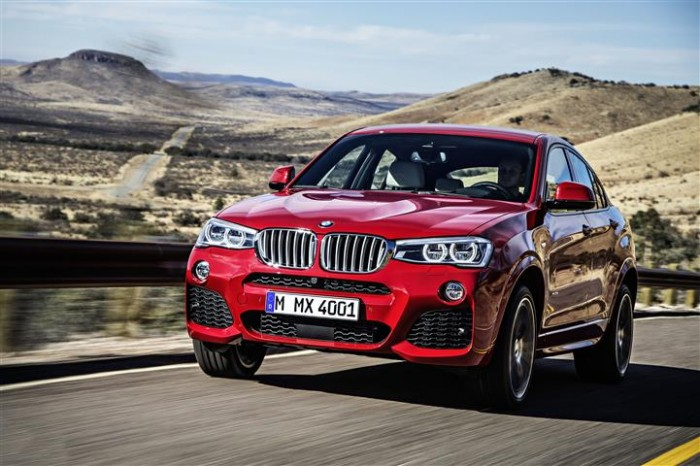 BMW X4 Crossover-SUV-Coupe Thing
