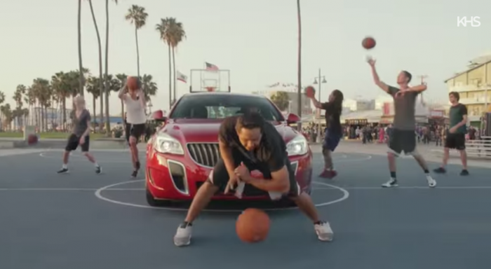Buick YouTube basketball video