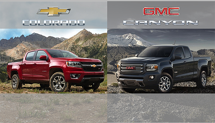 2015 GMC Canyon, Chevy Colorado Horsepower Top Segment ...