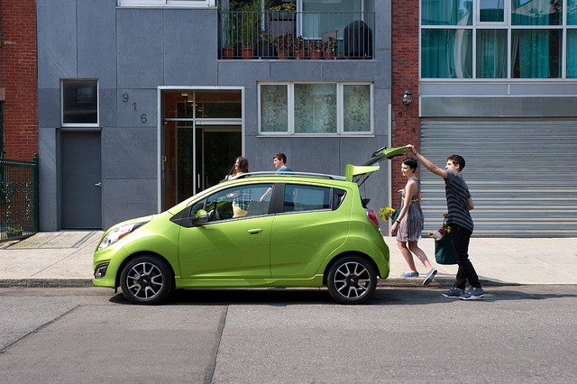 Columbia vs. Greece: Chevy Spark