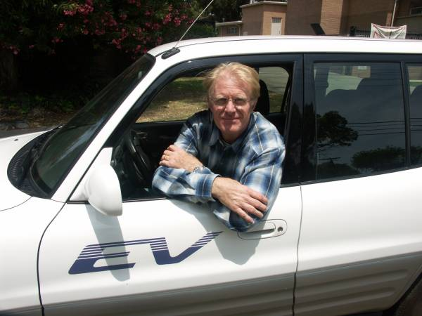 Ed Begley Jr.'s electric Toyota