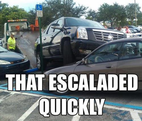 Best Car Memes escalade