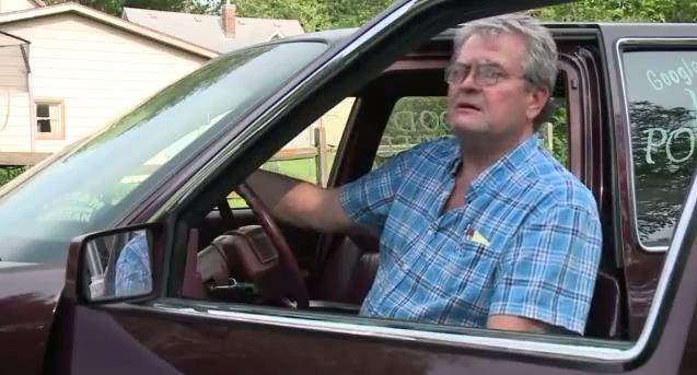 Herb Hartman made his own wood-powered Cadillac.