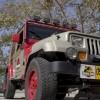 Jurassic Park Jeeps