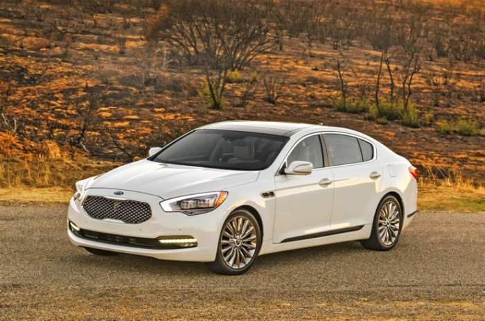 2015 Kia K900 marketing campaign