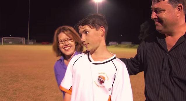 Kia and Make-A-Wish Aidan World Cup