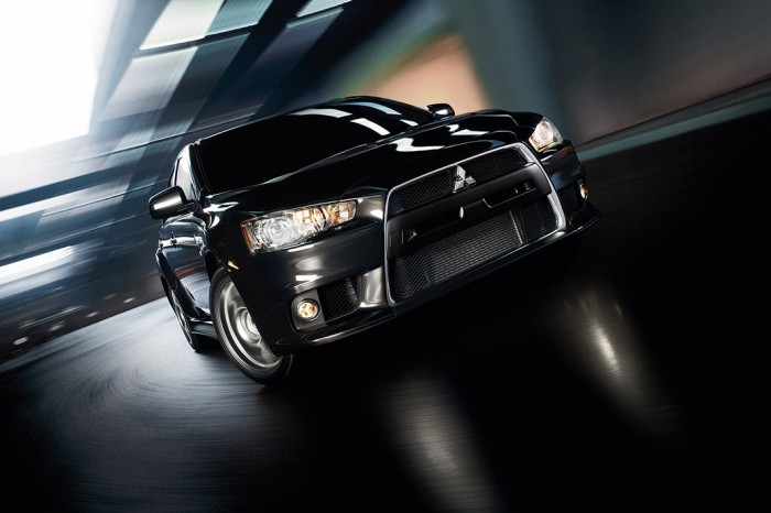 The 2014 Mitsubishi Lancer Evolution
