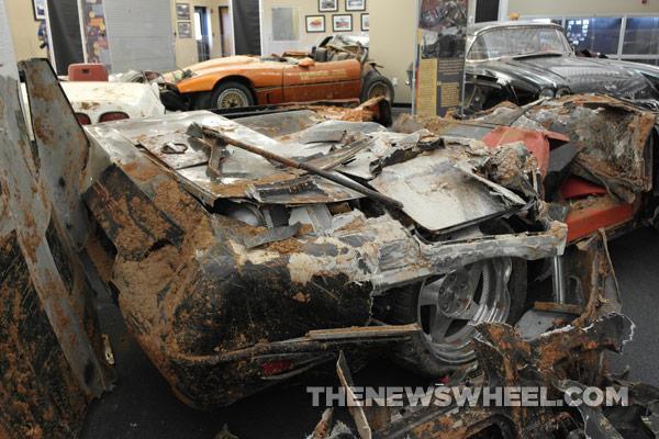 National Corvette Museum sinkhole cars