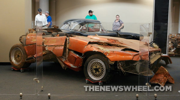 Wrecked Sinkhole Corvette
