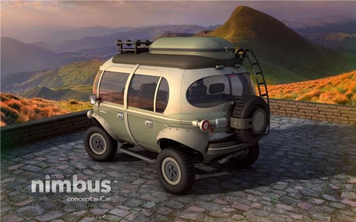 Nimbus e-Car Concept Van