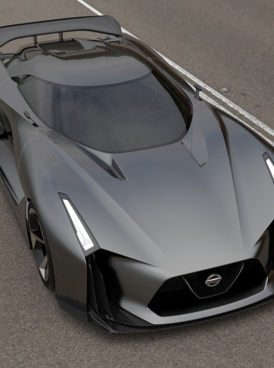 NISSAN CONCEPT 2020 Vision Gran Turismo Looks Like a ...
