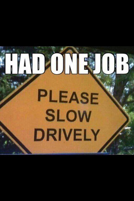 Best Car Memes one job