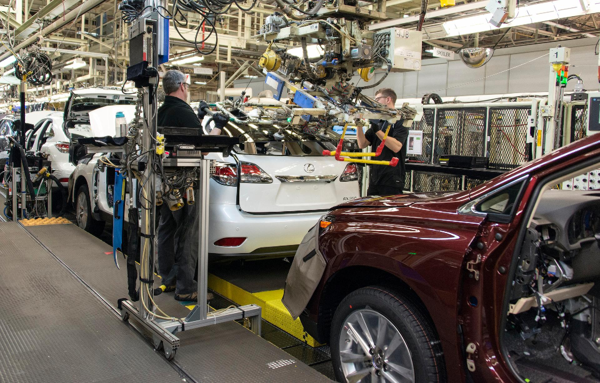 Toyota Canada Plant Is Highest Ranked Global Automotive