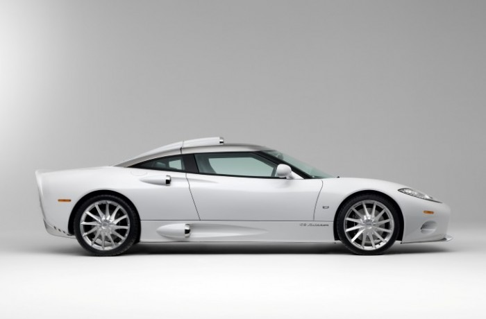 Netherlands vs. Chile: Spyker C8 Aileron