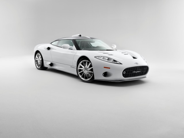 Netherlands vs. Mexico: Spyker C8 Aileron