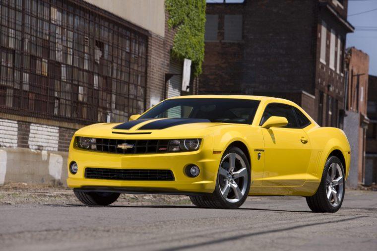 Transformers' Bumblebee Camaro