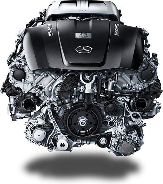 AMG 4.0-liter V8 Biturbo Engine