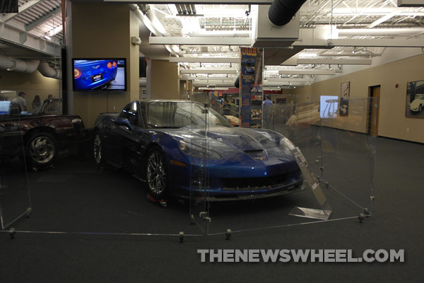 The 2009 Corvette Blue Devil prototype will be the first damaged Corvette to be restored.