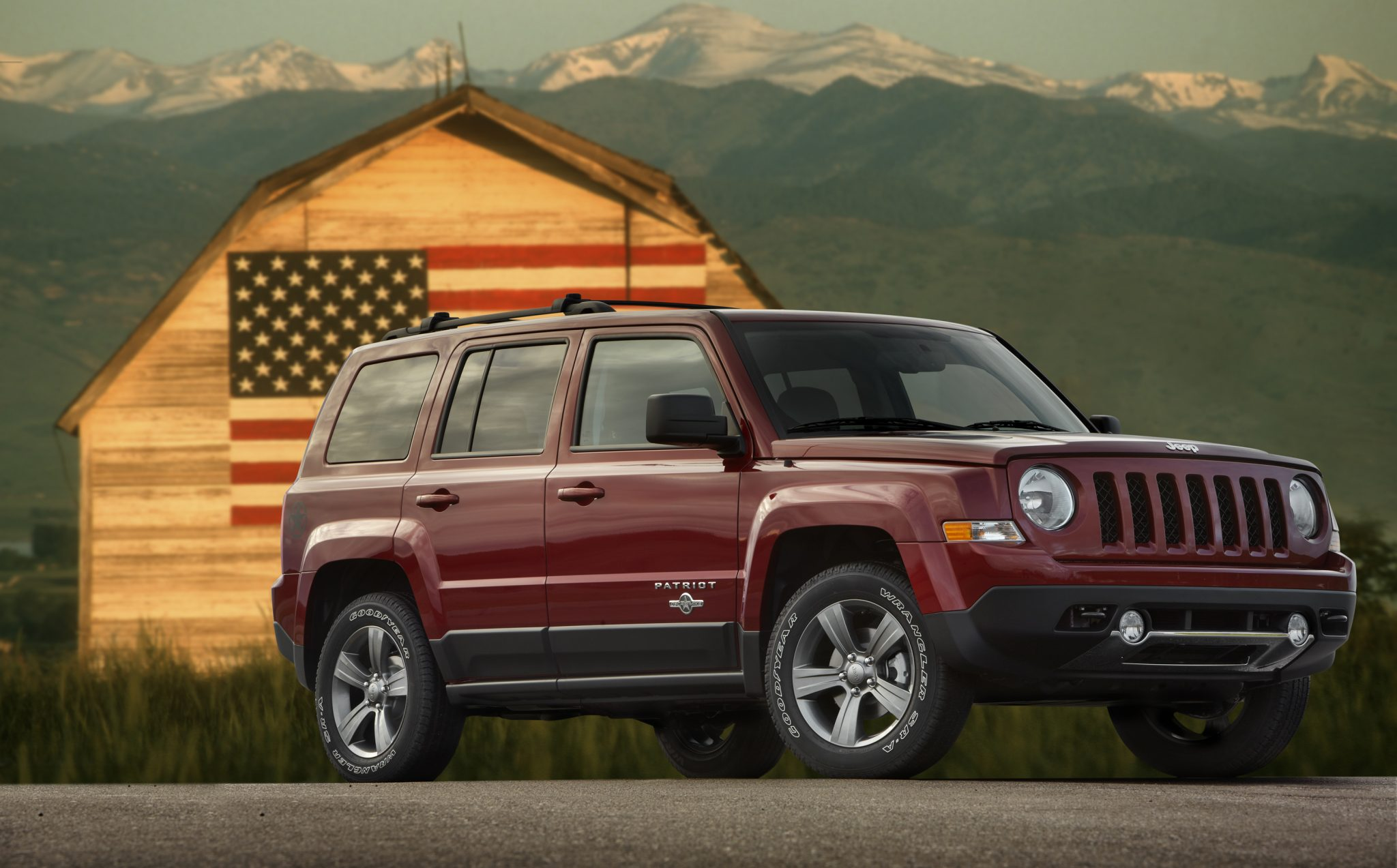 2013 Jeep Patriot overview