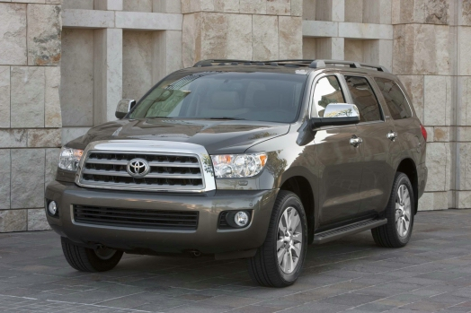 2013 Toyota Sequoia overview