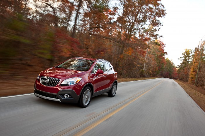 Updates for the 2015 Buick Encore