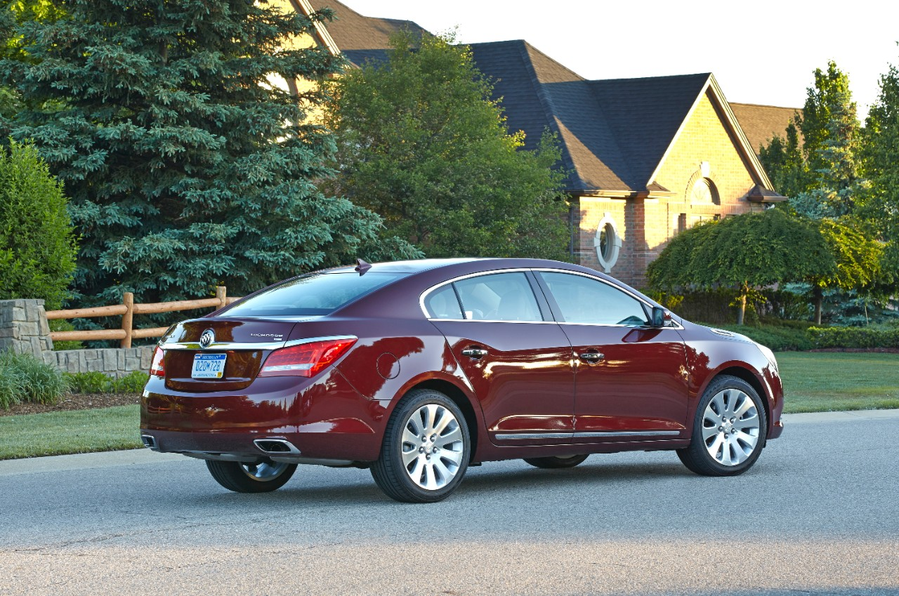 The 2015 Buick LaCrosse | Buick's June 2014 Sales