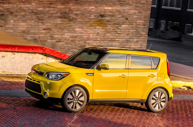 The 2015 Kia Soul, one of the popular vehicles driving Hyundai and Kia to a record 8 million vehicle sales in 2014