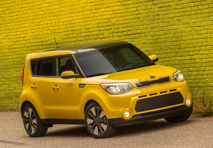 The 2015 Kia Soul, named to the 2015 Most Popular on Edmunds.com list