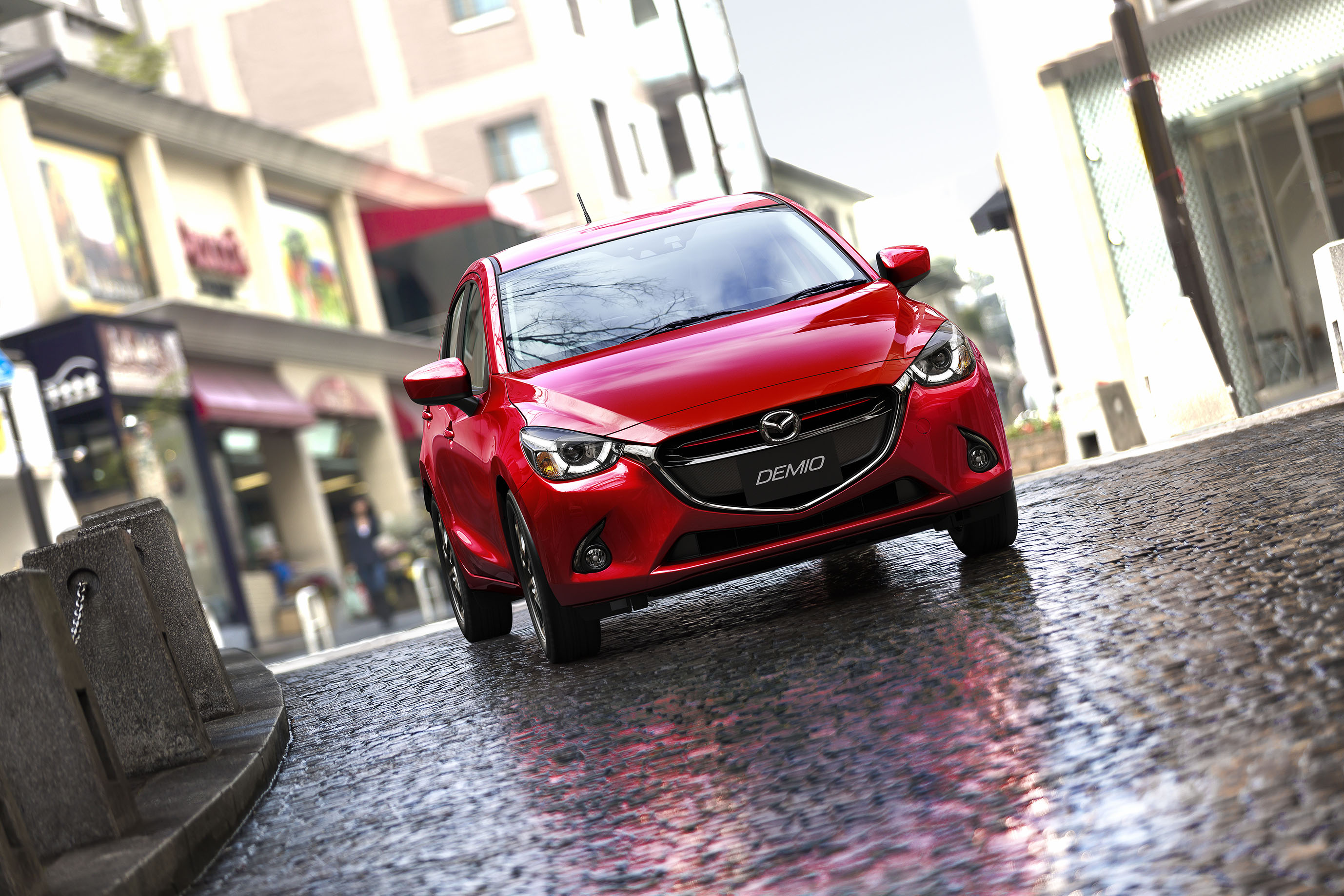 Japan's 2014 Car of the Year award 2016 Mazda2 12
