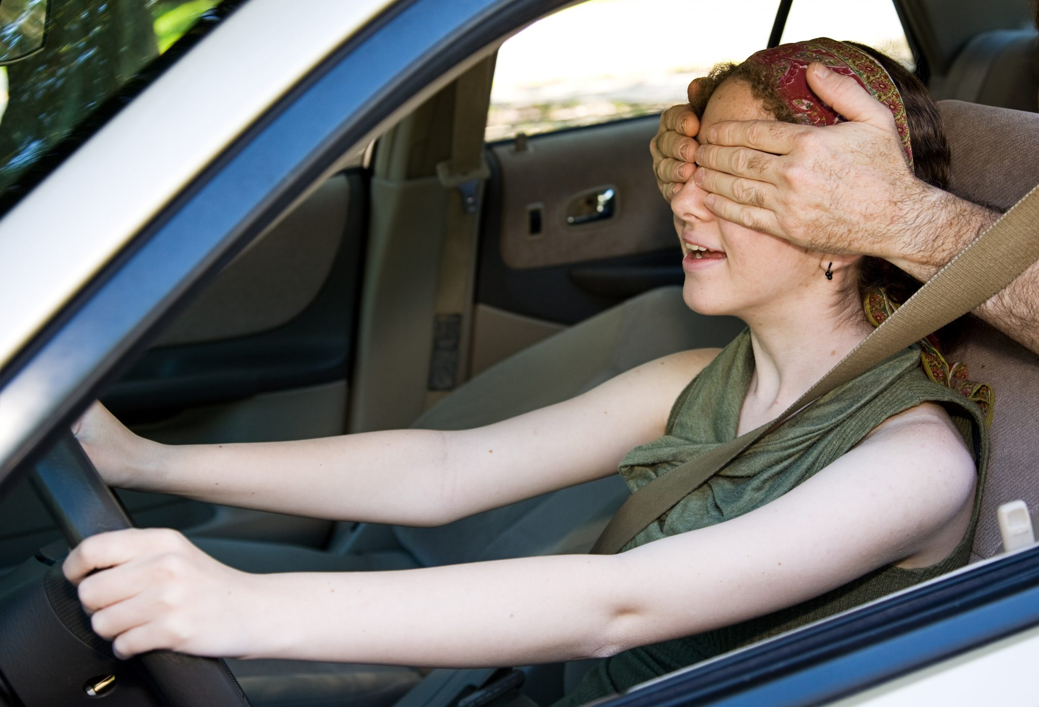 blindfolded driving | weird traffic laws