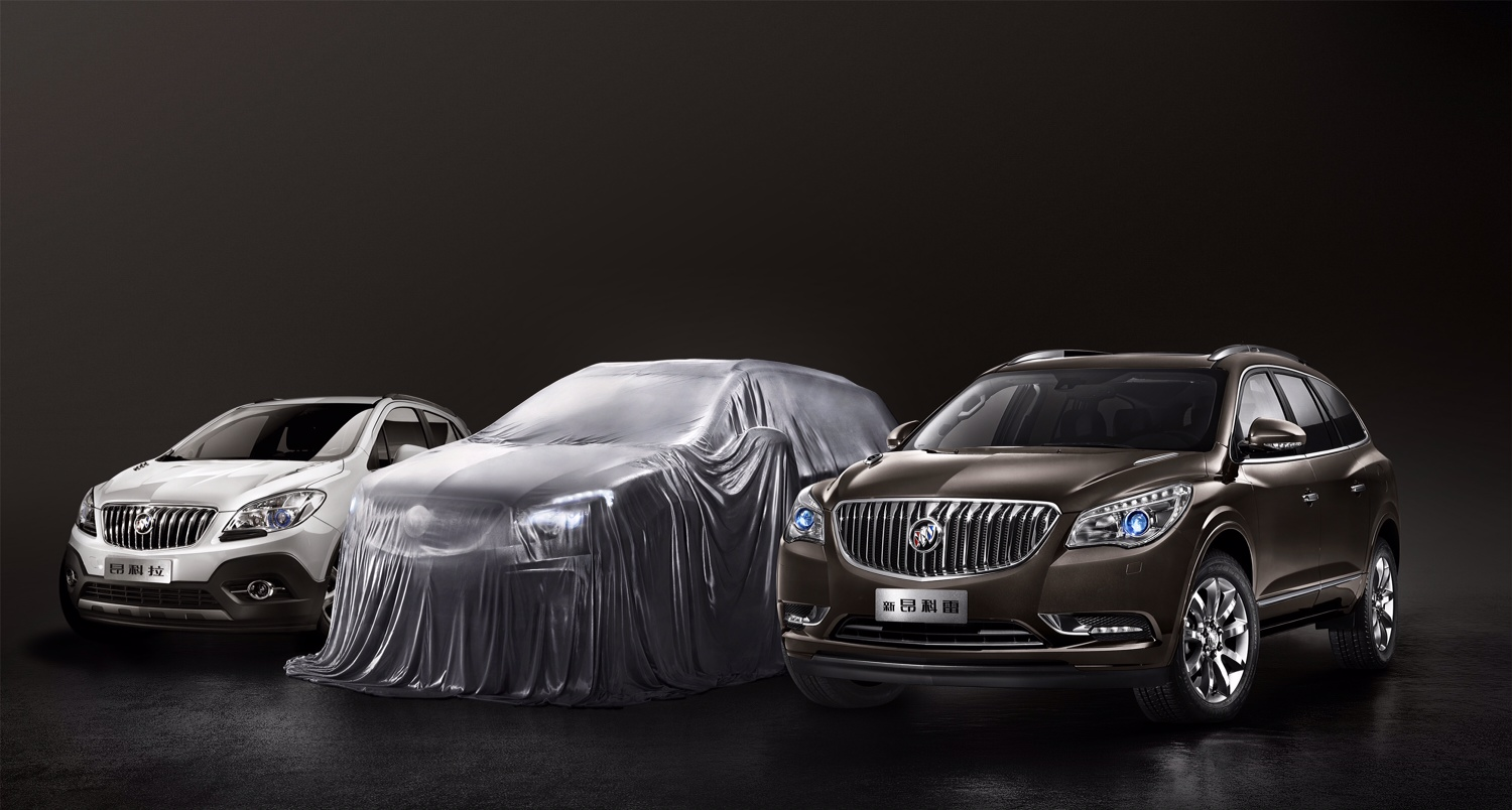 The Buick Envision was teased for the Chinese market.