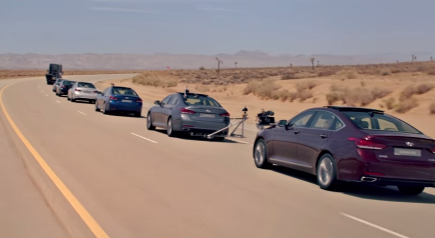 """Hyundai: The Empty Car Convoy"" Goes Viral"