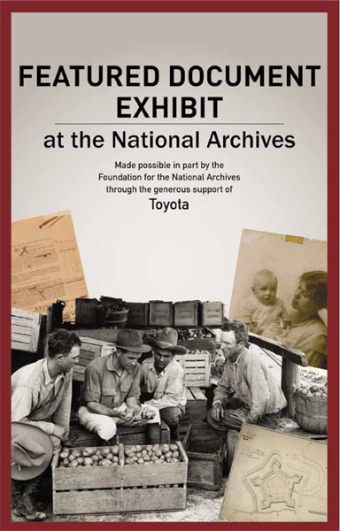 Toyota's National Archives Museum gift