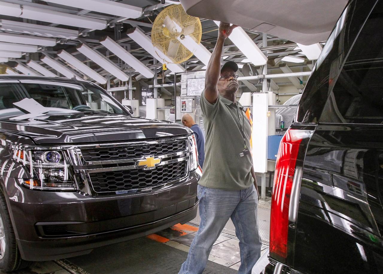 A look inside the GM Arlington plant