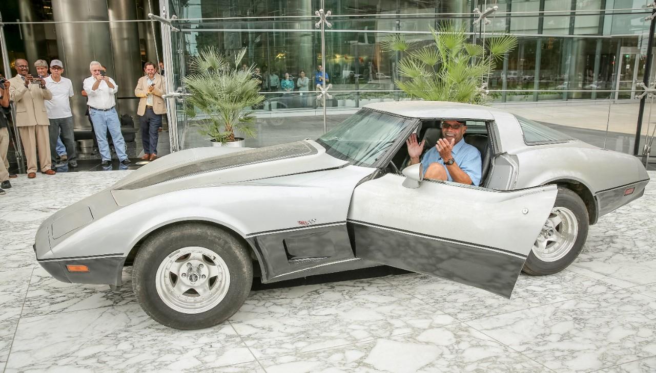 George Talley's Corvette