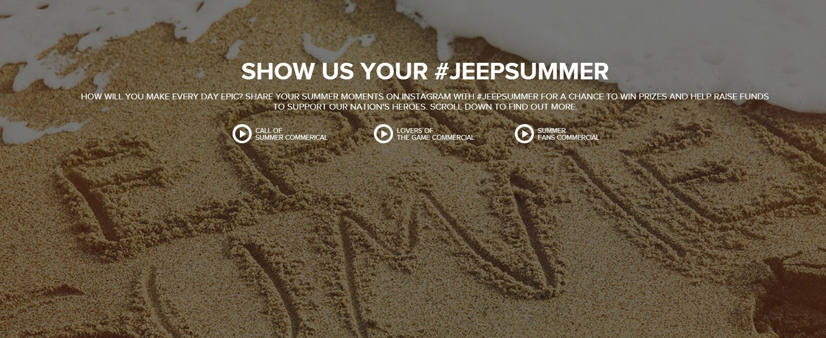 Enter the Jeep Summer Moments Sweepstakes Today