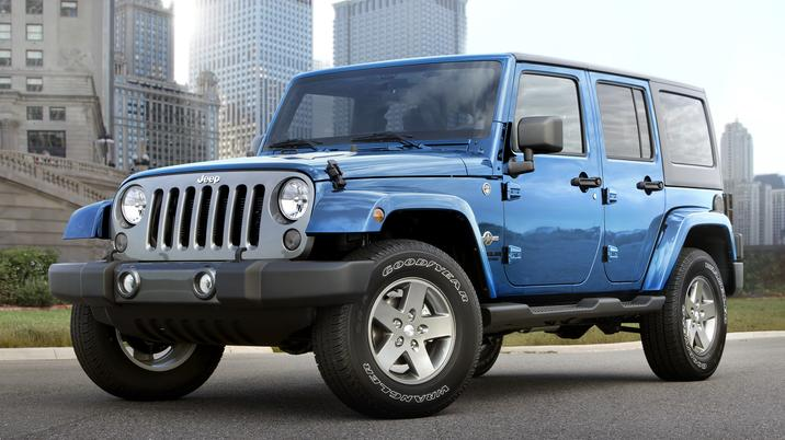 Five Chrysler Group Models Lead in Top Quality Awards - Jeep Wrangler Unlimited