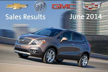 2014 GM June Sales