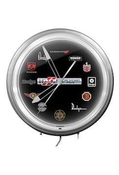Dodge Brand 100th Anniversary Merchandise clock