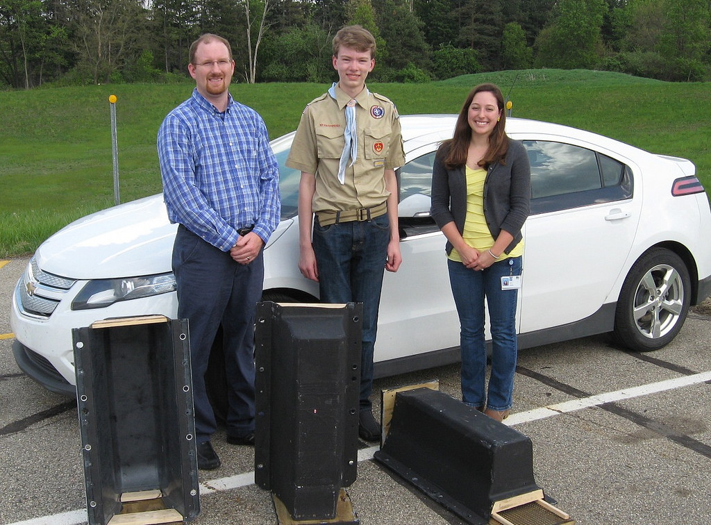 Netherland builds Homes for Bats with Chevy Volt Battery Covers