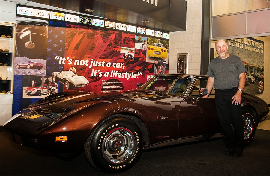Man Donates 1974 Corvette to the National Corvette Museum