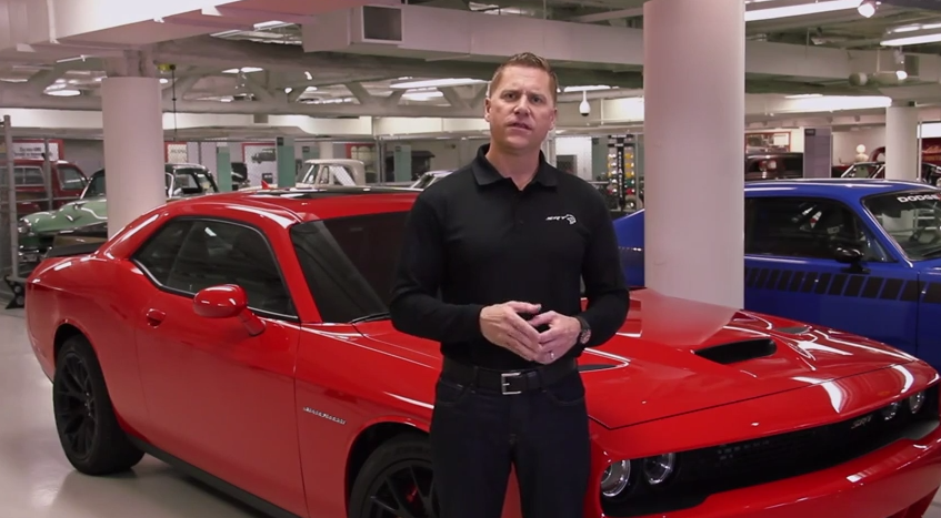 Tim Kuniskis announces that the 2015 Dodge Challenger SRT Hellcat is the fastest muscle car ever.